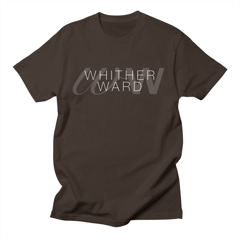 WW + Words (white) Men's T-Shirt by whitherward's Artist Shop