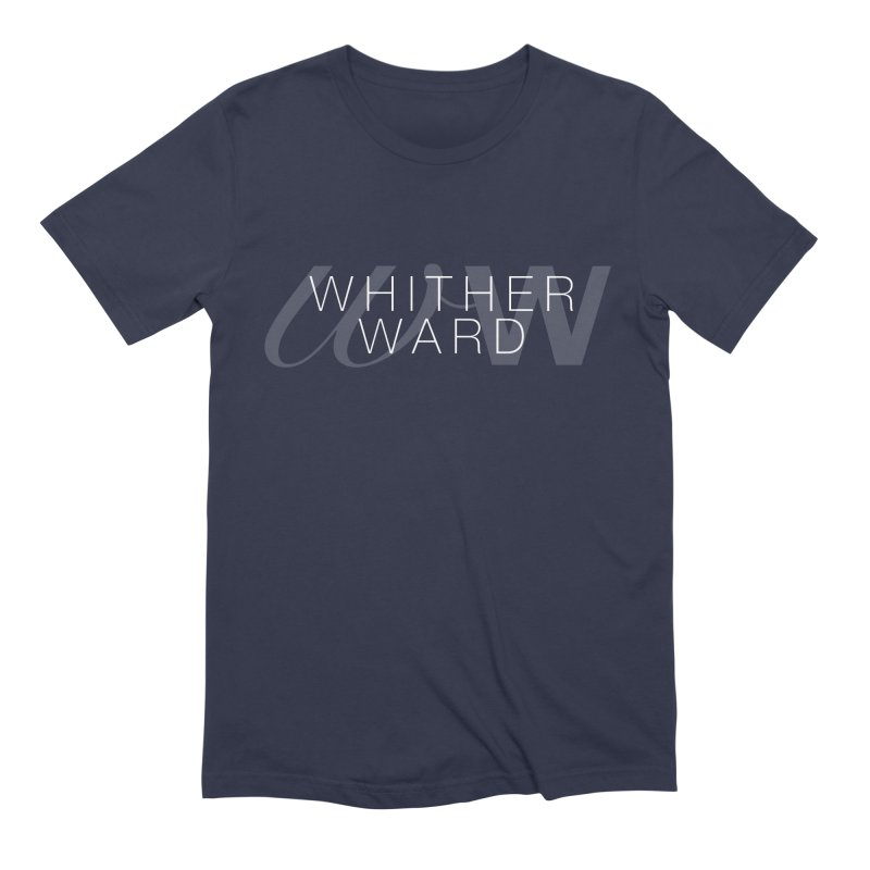 WW + Words (white) Men's Extra Soft T-Shirt by whitherward's Artist Shop