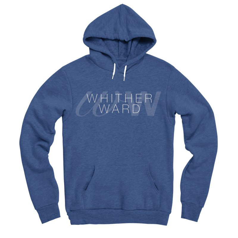 WW + Words (white) Women's Sponge Fleece Pullover Hoody by whitherward's Artist Shop