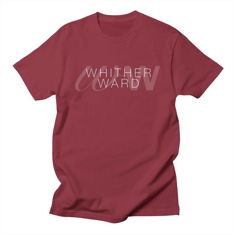 WW + Words (white) Men's Regular T-Shirt by whitherward's Artist Shop