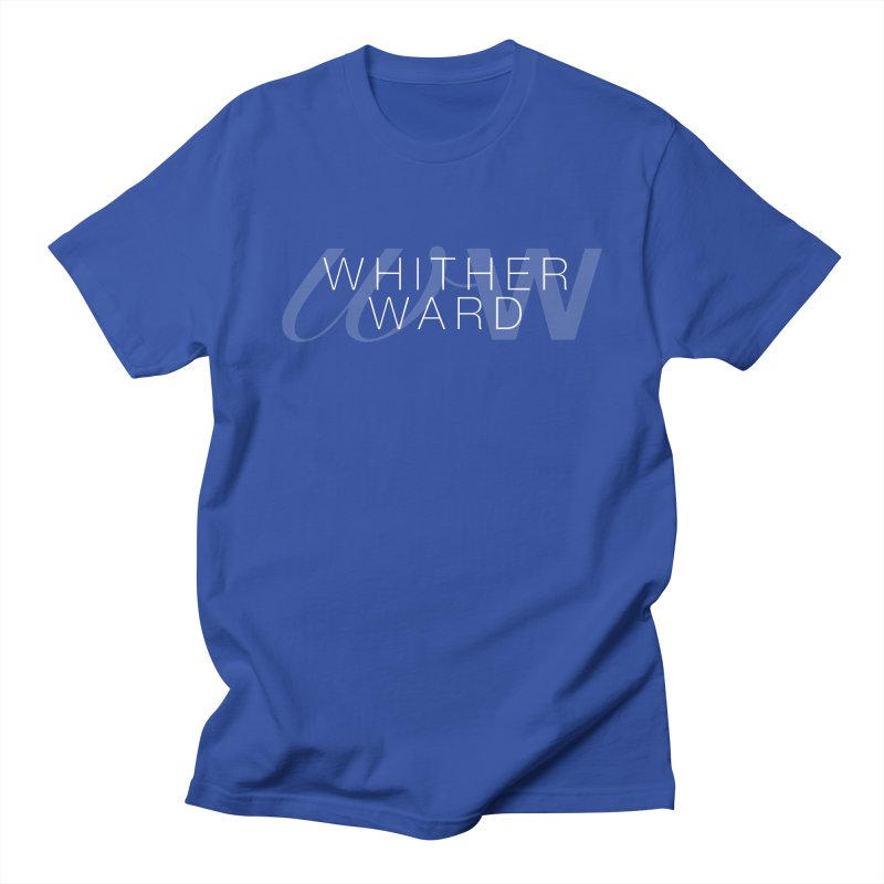 WW + Words (white) Women's Regular Unisex T-Shirt by whitherward's Artist Shop