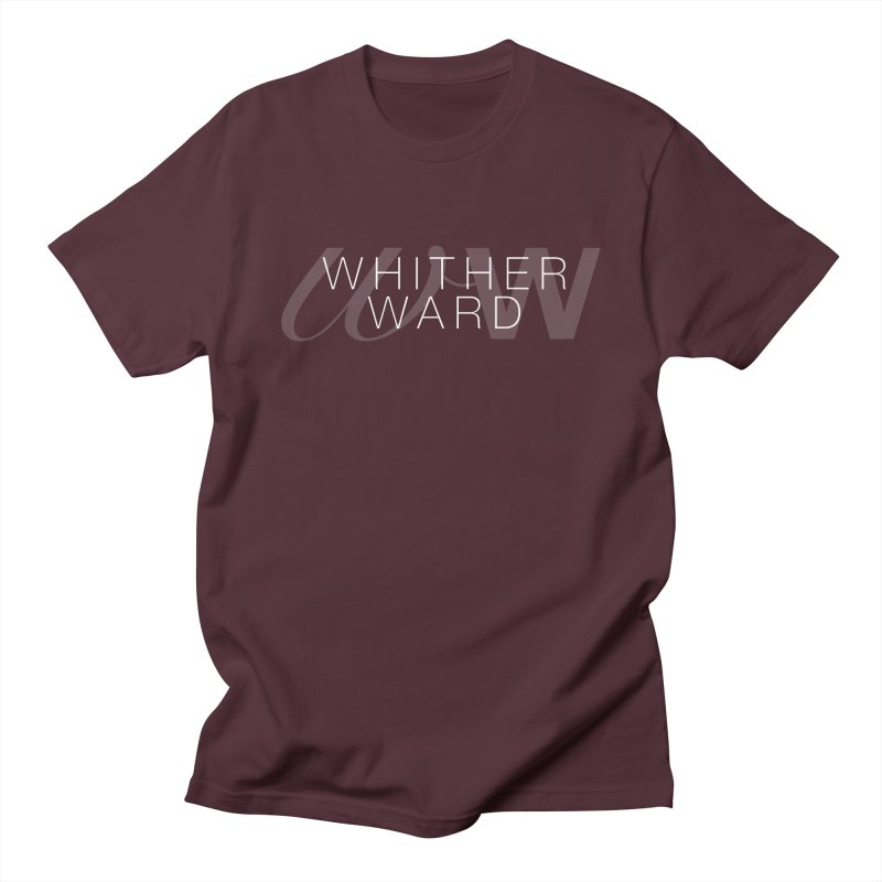 WW + Words (white) Men's Regular T-Shirt by whitherward's Artist Shop