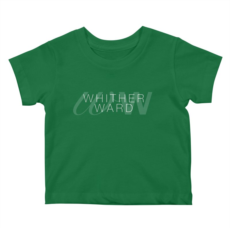 WW + Words (white) Kids Baby T-Shirt by whitherward's Artist Shop