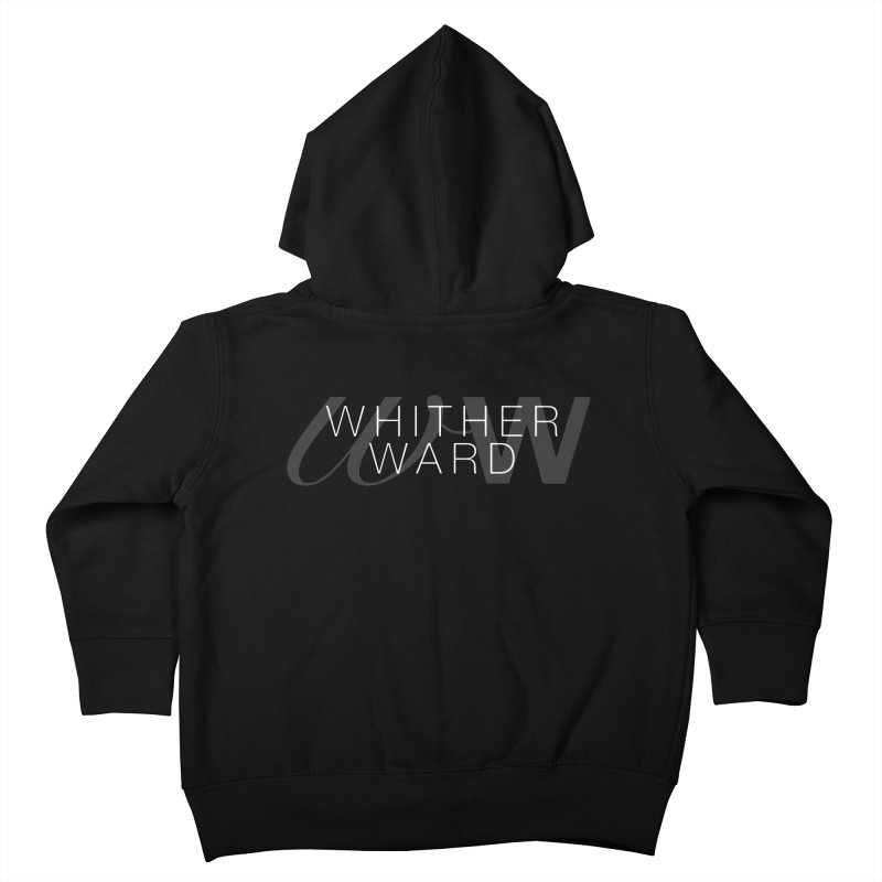 WW + Words (white) Kids Toddler Zip-Up Hoody by whitherward's Artist Shop