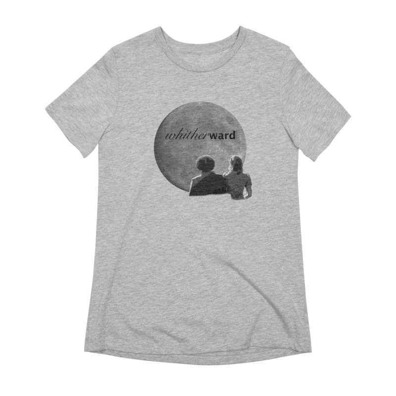 WW Moon Women's Extra Soft T-Shirt by whitherward's Artist Shop