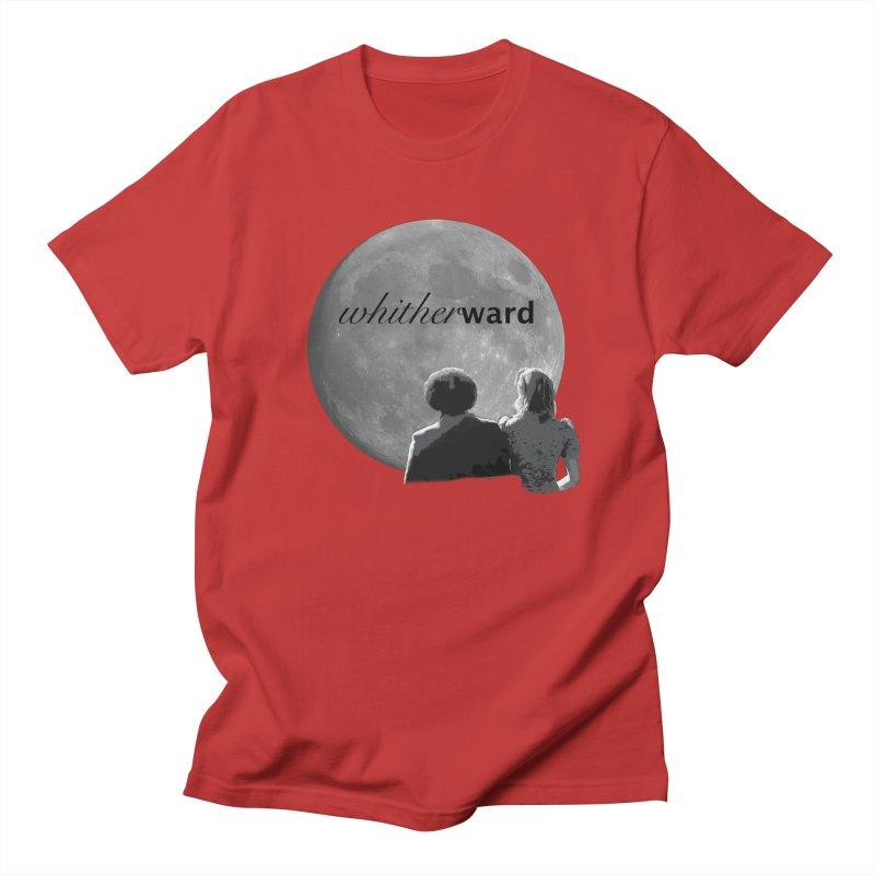 WW Moon Men's T-Shirt by whitherward's Artist Shop