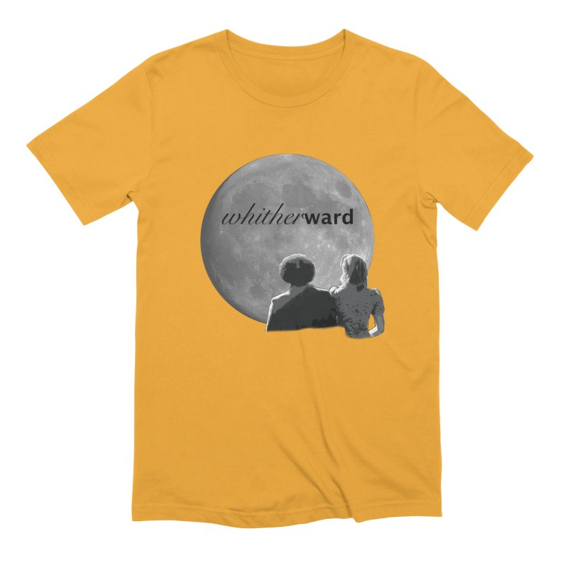 WW Moon Men's Extra Soft T-Shirt by whitherward's Artist Shop