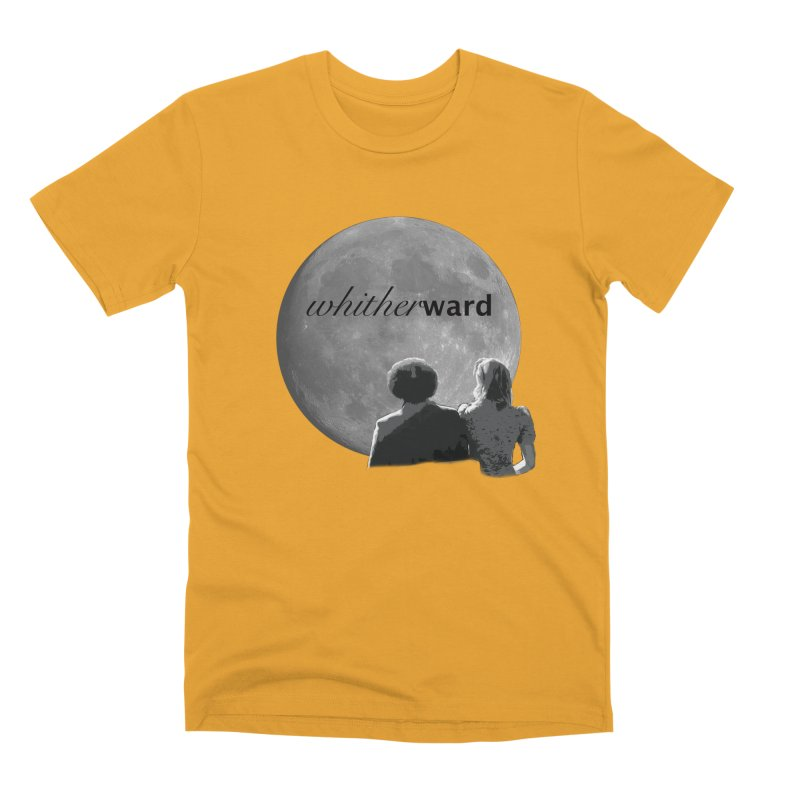 WW Moon Men's Premium T-Shirt by whitherward's Artist Shop