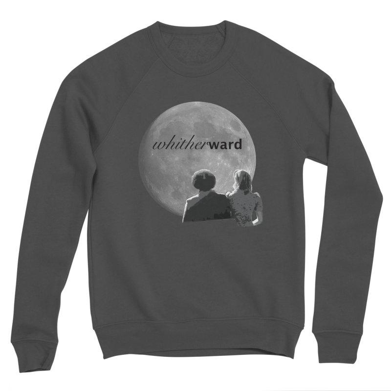 WW Moon Women's Sponge Fleece Sweatshirt by whitherward's Artist Shop