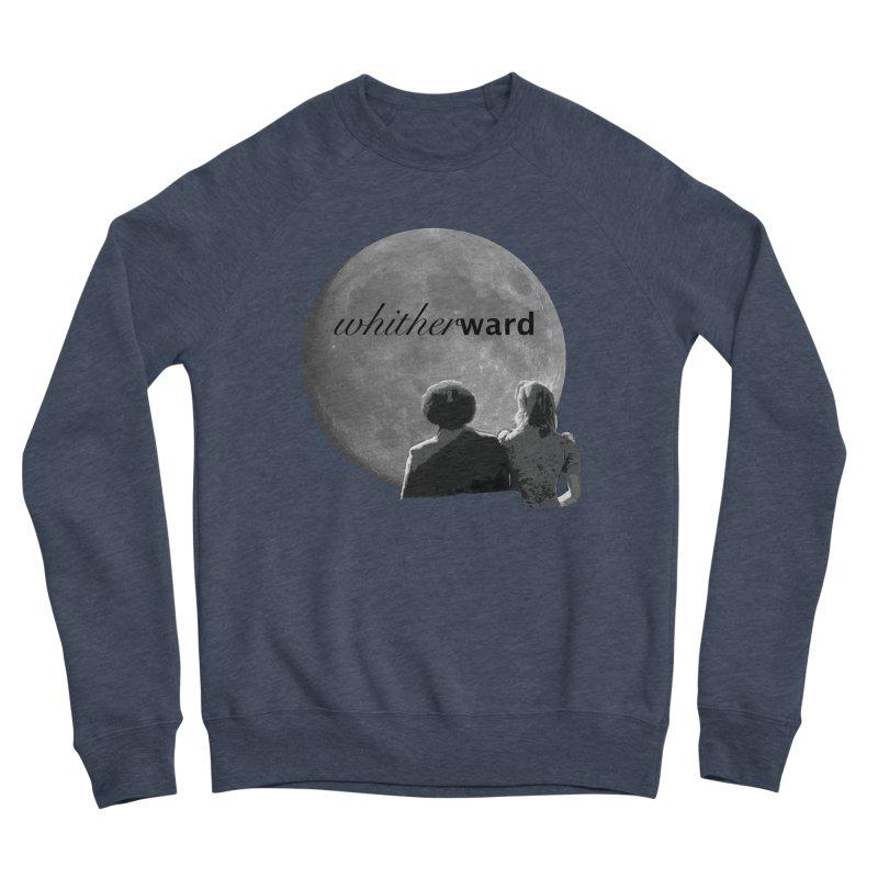 WW Moon Men's Sponge Fleece Sweatshirt by whitherward's Artist Shop