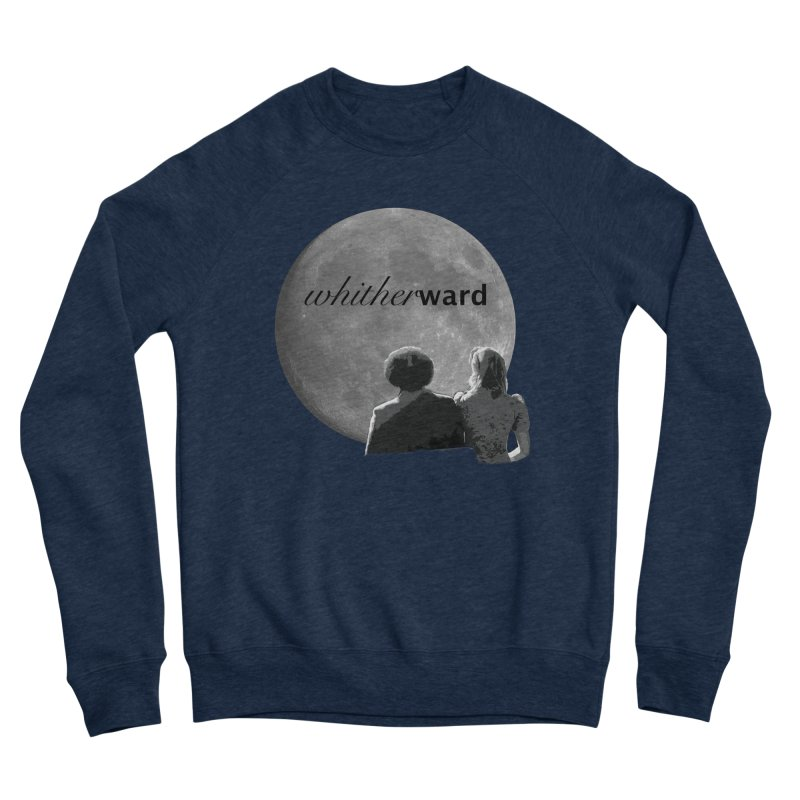 WW Moon Men's Sweatshirt by whitherward's Artist Shop