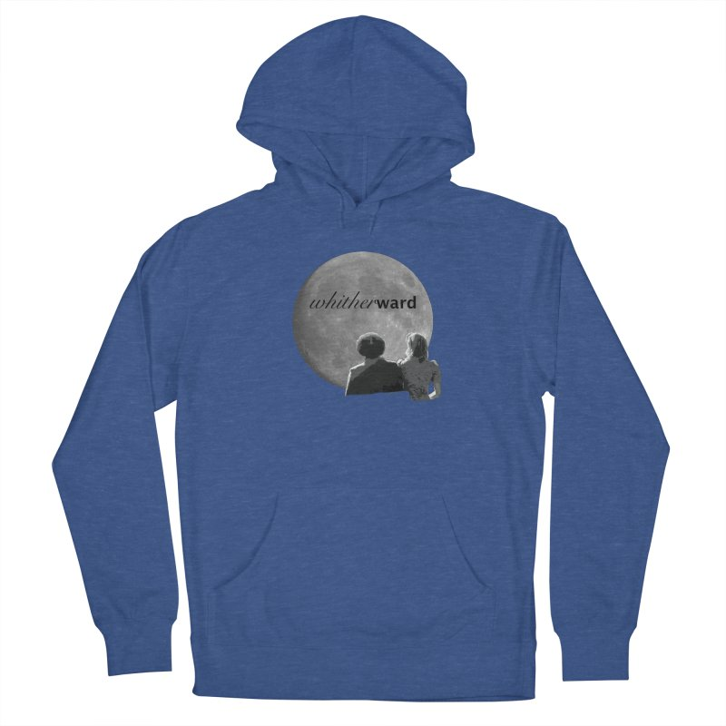 WW Moon Men's French Terry Pullover Hoody by whitherward's Artist Shop
