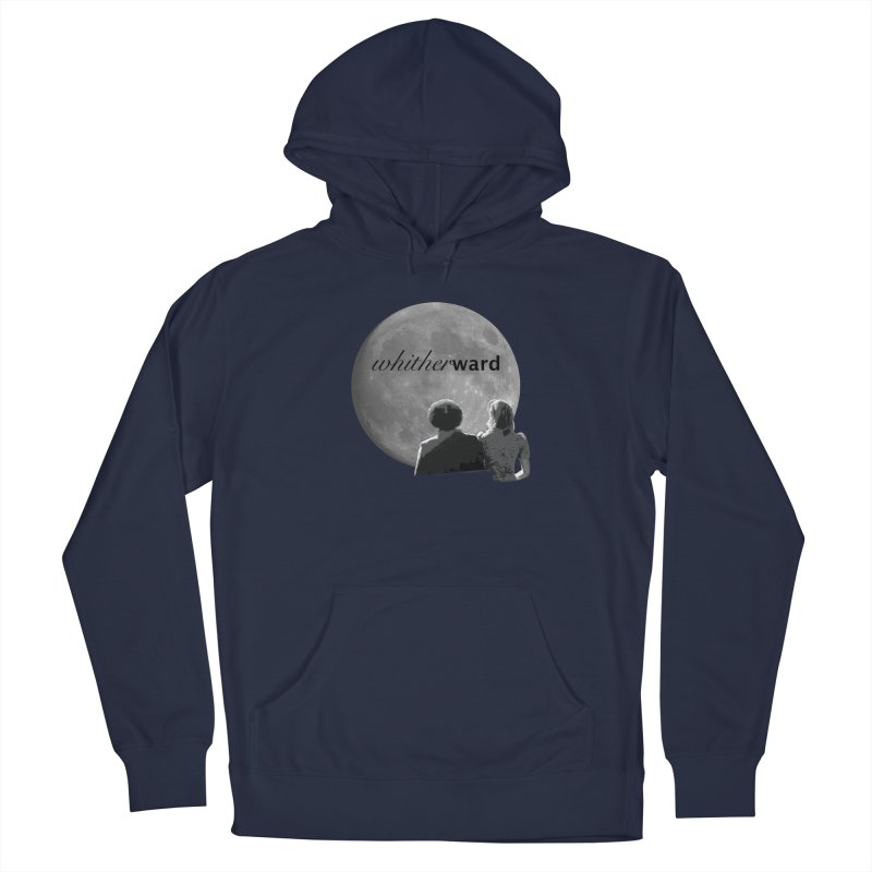 WW Moon Men's Pullover Hoody by whitherward's Artist Shop