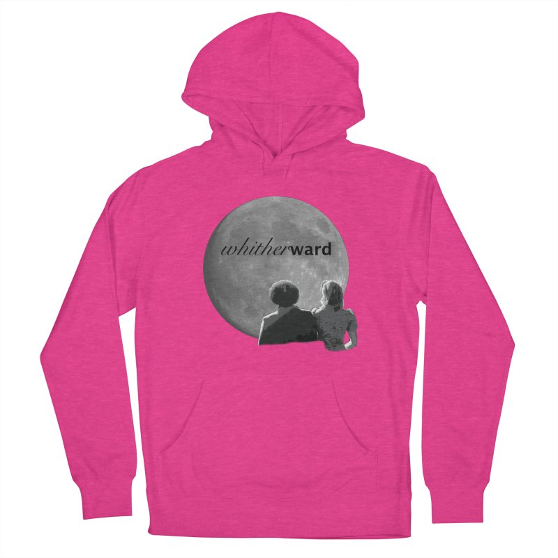 WW Moon Women's French Terry Pullover Hoody by whitherward's Artist Shop