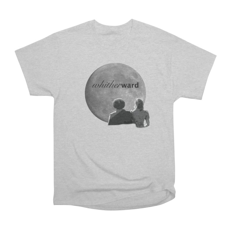 WW Moon Women's Heavyweight Unisex T-Shirt by whitherward's Artist Shop