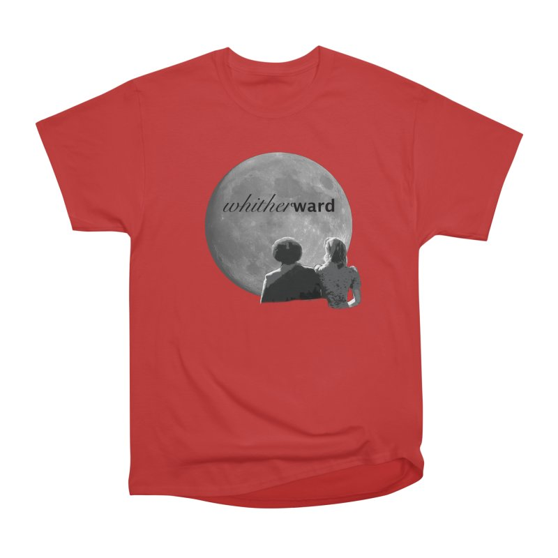 WW Moon Men's Heavyweight T-Shirt by whitherward's Artist Shop
