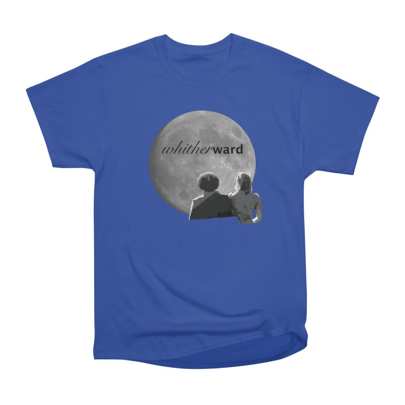 WW Moon Men's Heavyweight T-Shirt by whitherward's Artist Shop