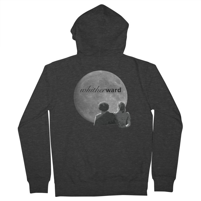 WW Moon Men's Zip-Up Hoody by whitherward's Artist Shop