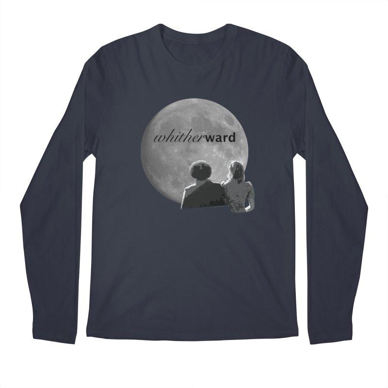 WW Moon Men's Longsleeve T-Shirt by whitherward's Artist Shop