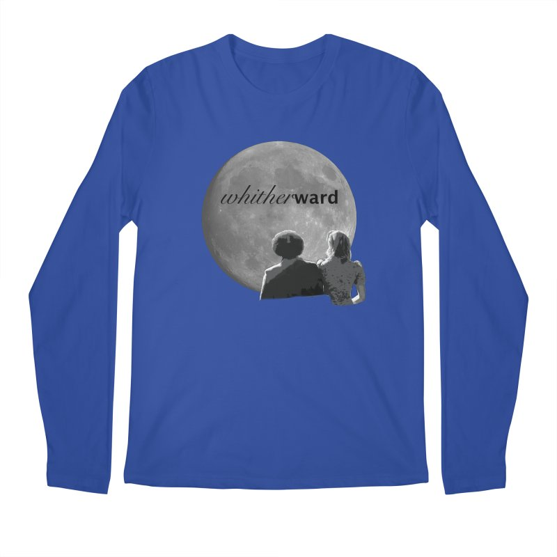 WW Moon Men's Longsleeve T-Shirt by whitherward's Artist Shop