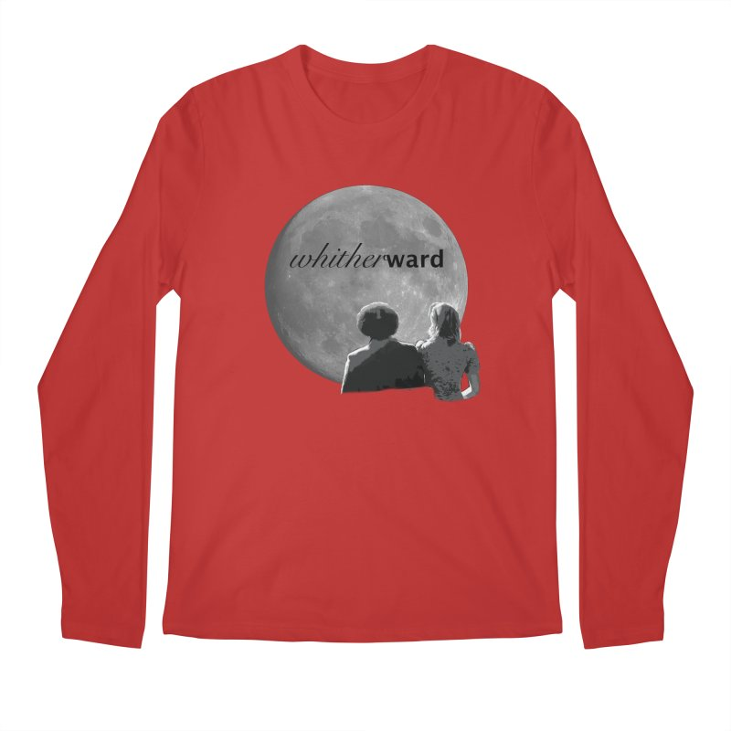 WW Moon Men's Regular Longsleeve T-Shirt by whitherward's Artist Shop