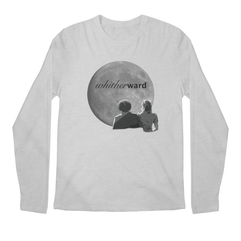 WW Moon Men's Regular Longsleeve T-Shirt by whitherward's Artist Shop