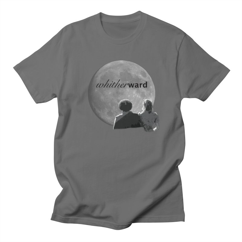 WW Moon Men's T-Shirt by whitherward's Artist Shop