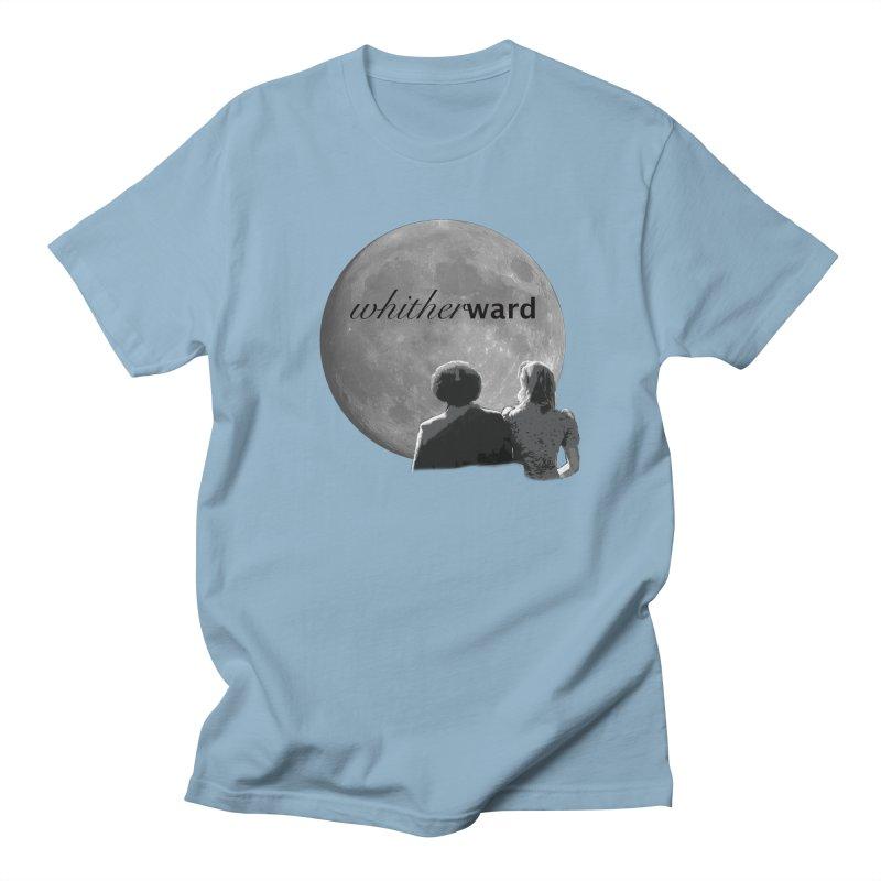WW Moon Men's Regular T-Shirt by whitherward's Artist Shop