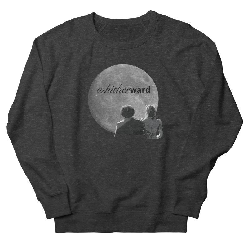WW Moon Women's French Terry Sweatshirt by whitherward's Artist Shop