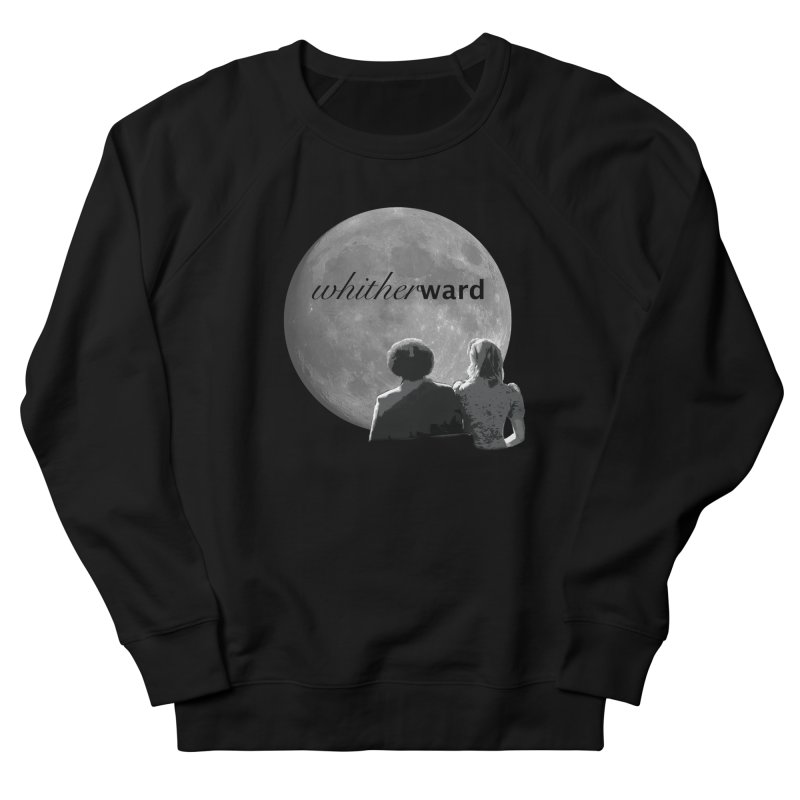 WW Moon Women's French Terry Sweatshirt by whitherward's Artist Shop