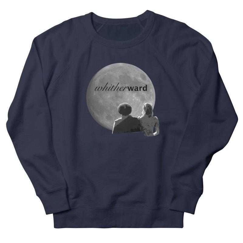 WW Moon Men's French Terry Sweatshirt by whitherward's Artist Shop
