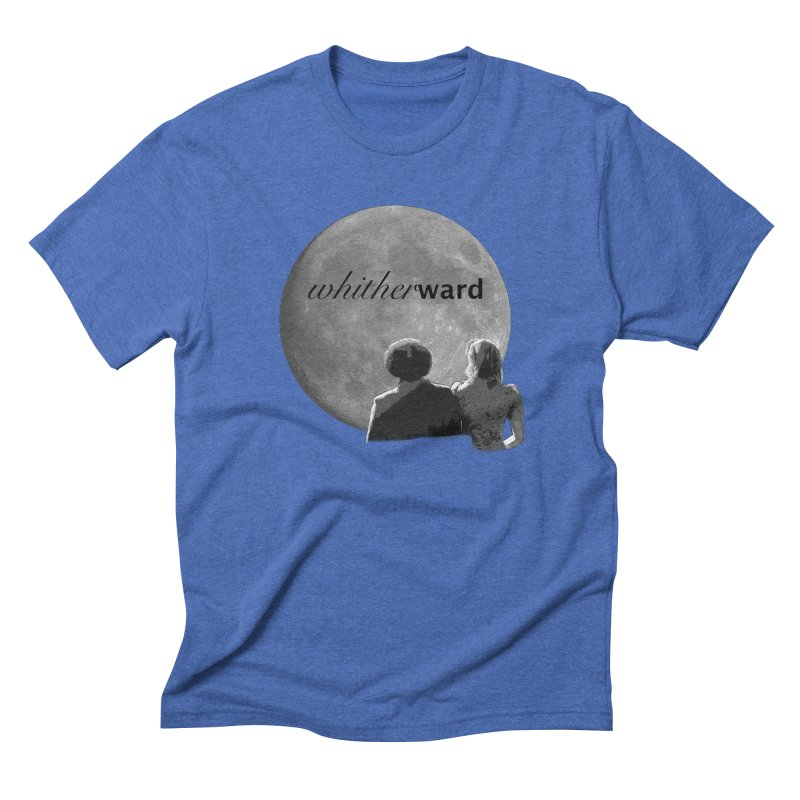 WW Moon Men's Triblend T-Shirt by whitherward's Artist Shop