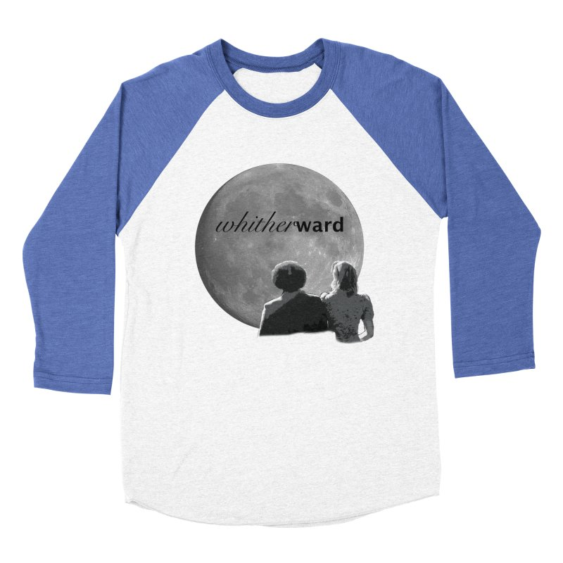 WW Moon Women's Baseball Triblend Longsleeve T-Shirt by whitherward's Artist Shop