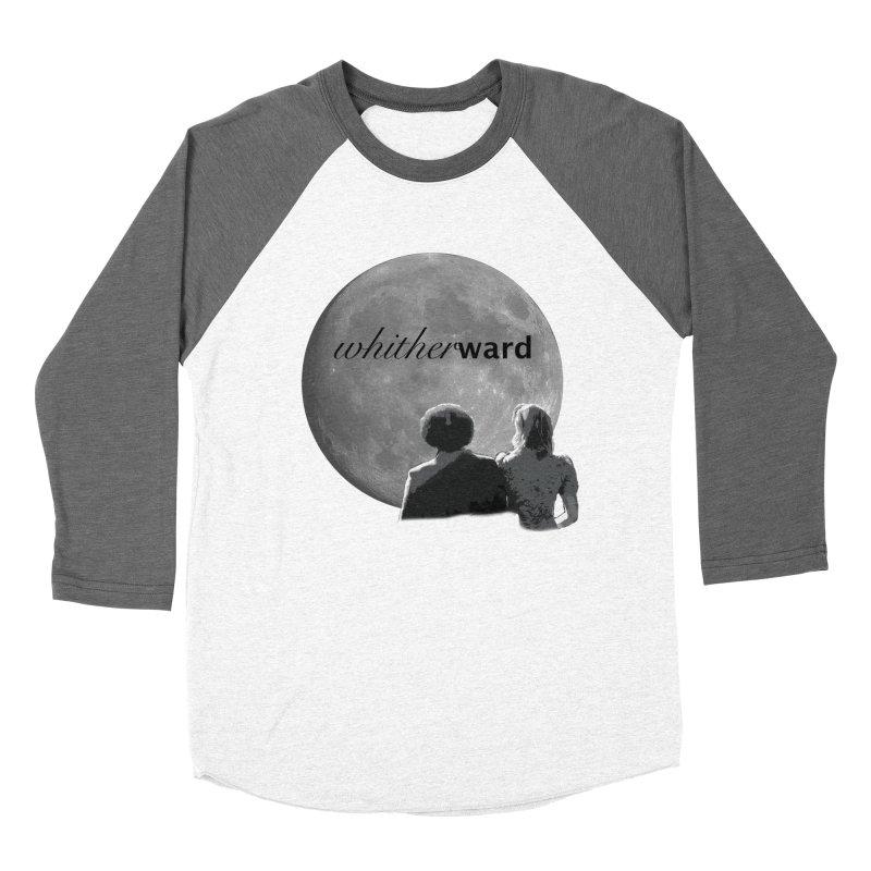 WW Moon Women's Baseball Triblend Longsleeve T-Shirt by whitherward's Artist Shop