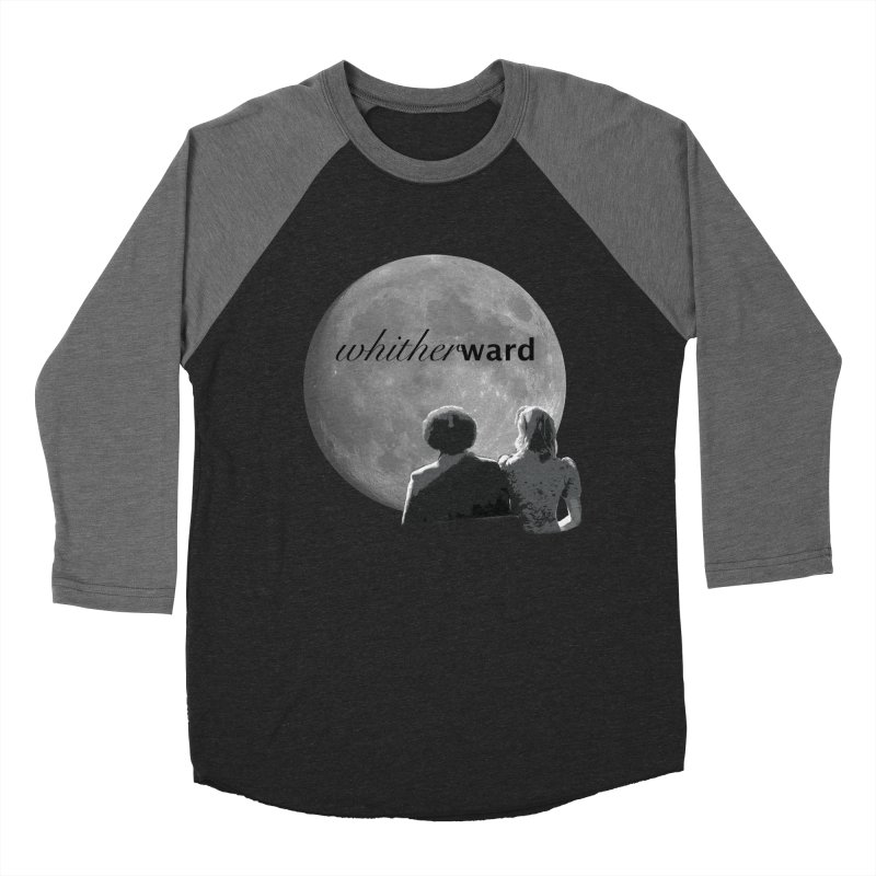 WW Moon Men's Baseball Triblend Longsleeve T-Shirt by whitherward's Artist Shop