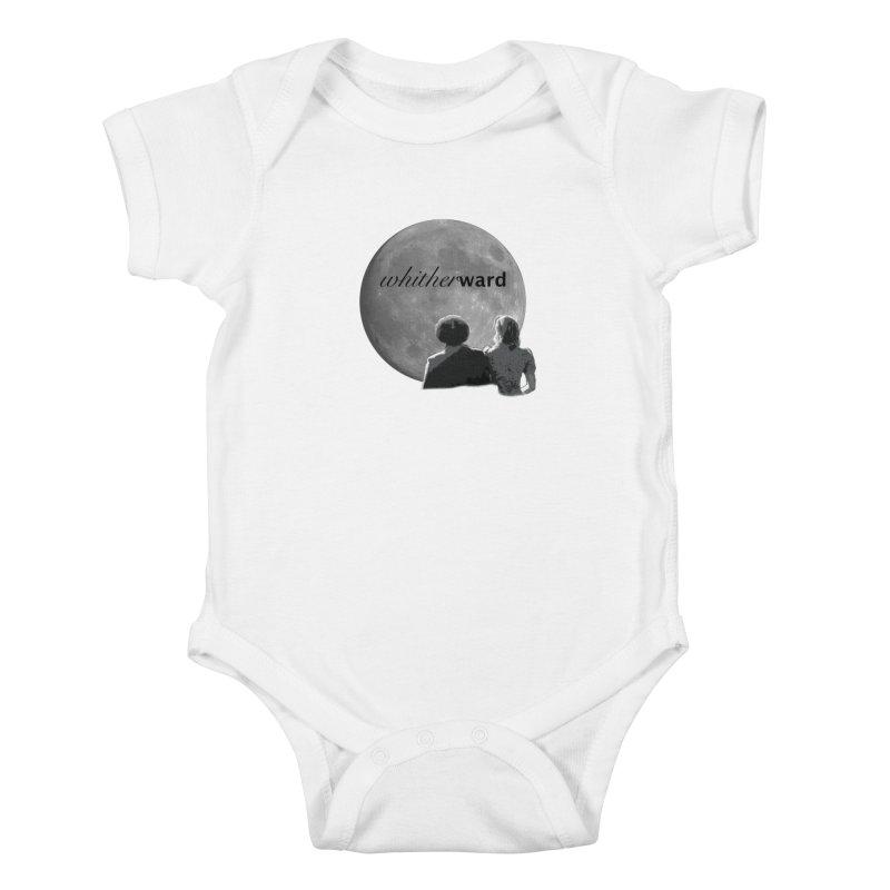 WW Moon Kids Baby Bodysuit by whitherward's Artist Shop