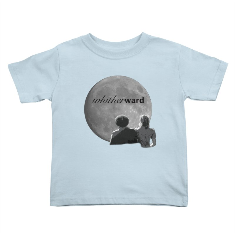 WW Moon Kids Toddler T-Shirt by whitherward's Artist Shop