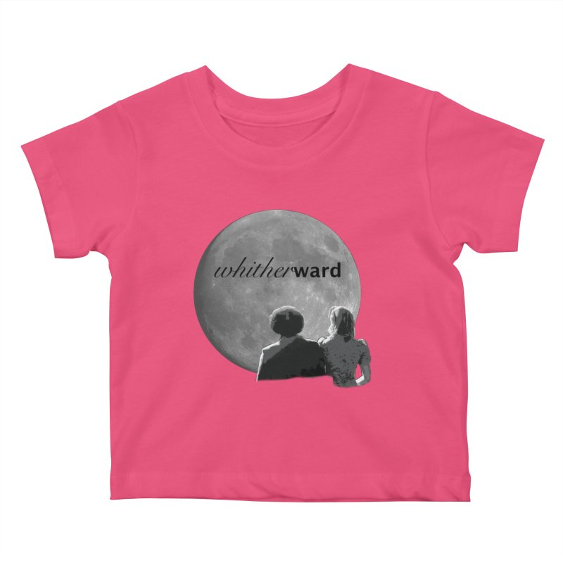 WW Moon Kids Baby T-Shirt by whitherward's Artist Shop