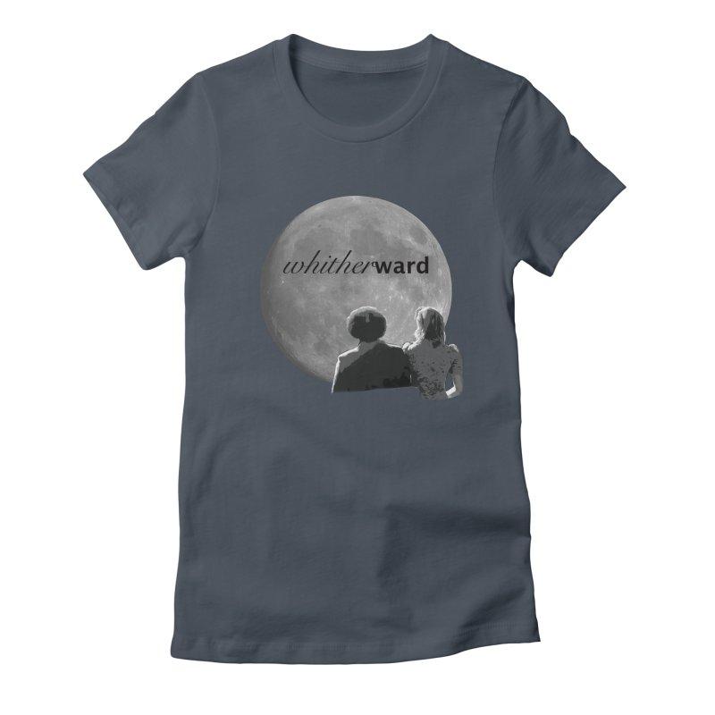 WW Moon Women's T-Shirt by whitherward's Artist Shop