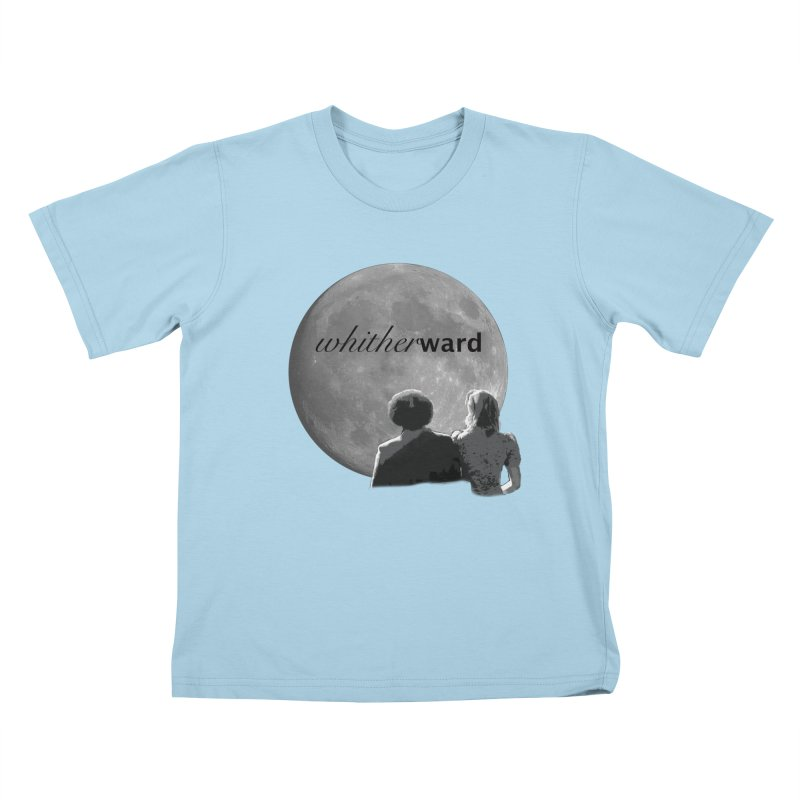 WW Moon Kids T-Shirt by whitherward's Artist Shop