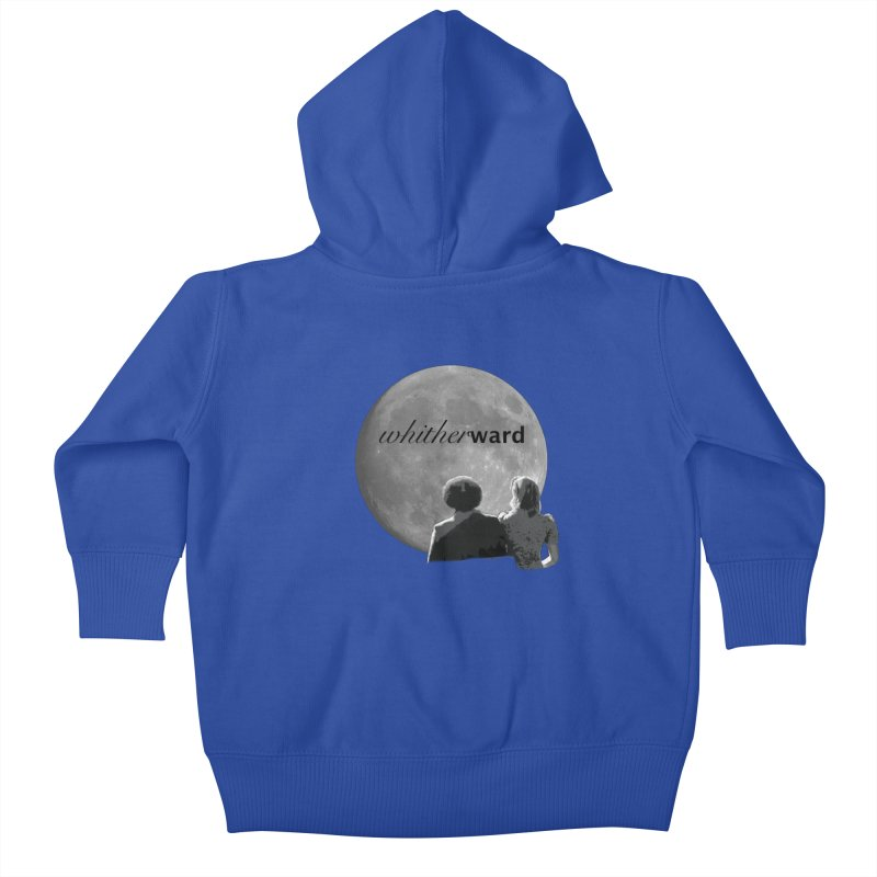 WW Moon Kids Baby Zip-Up Hoody by whitherward's Artist Shop