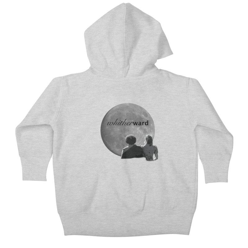 WW Moon Kids Baby Zip-Up Hoody by whitherward's Artist Shop