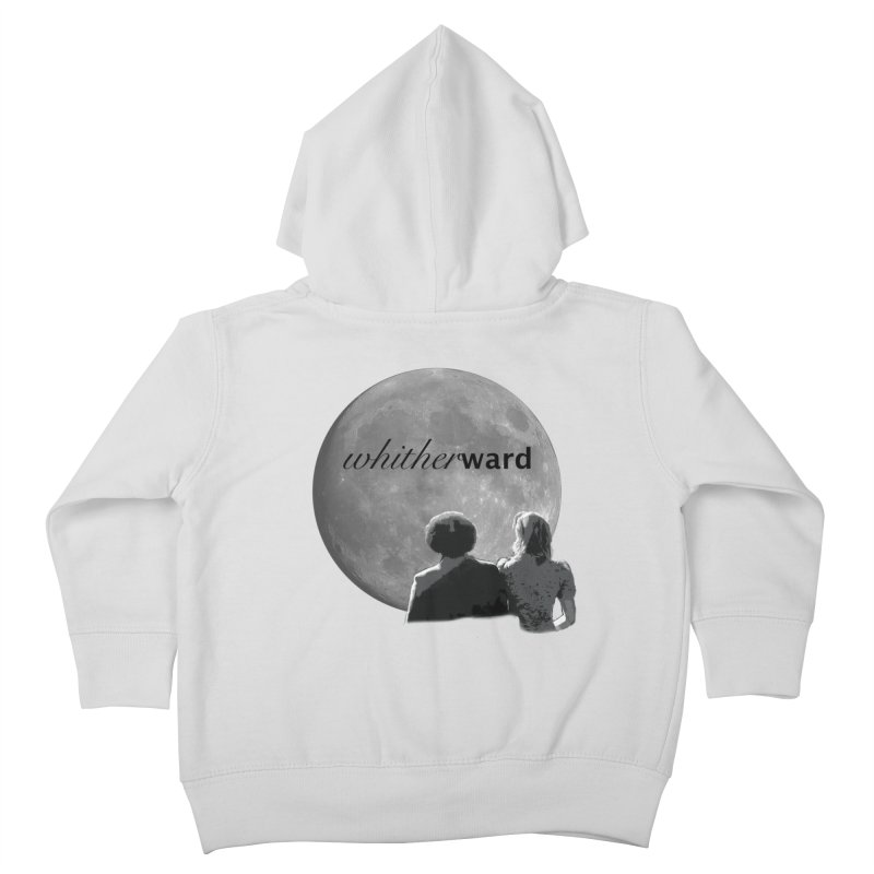 WW Moon Kids Toddler Zip-Up Hoody by whitherward's Artist Shop