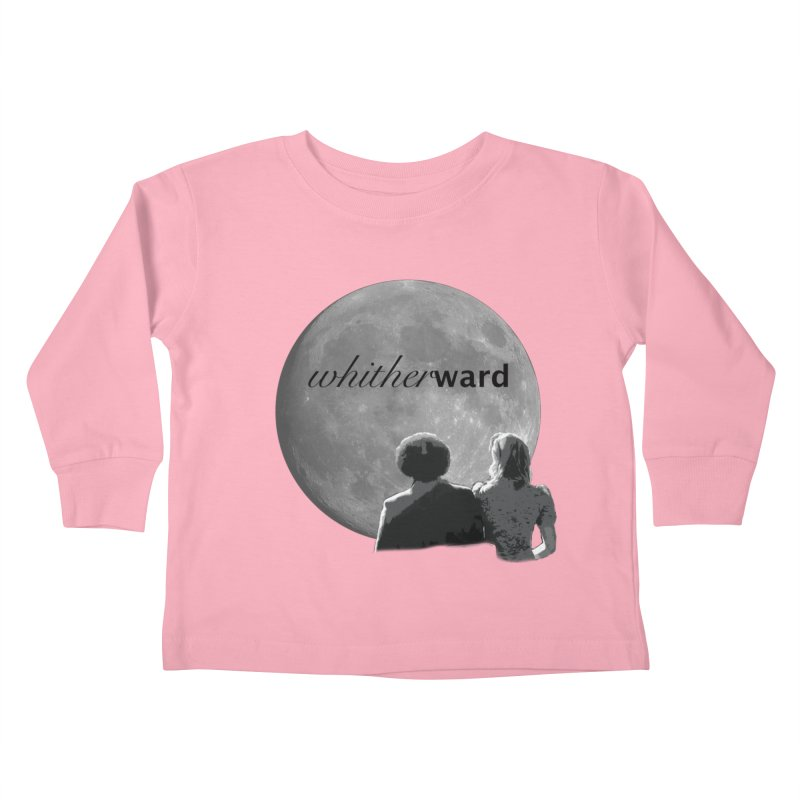 WW Moon Kids Toddler Longsleeve T-Shirt by whitherward's Artist Shop