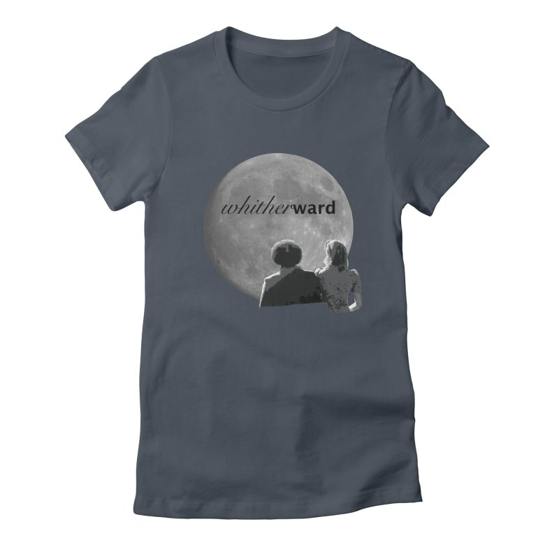 WW Moon Women's T-Shirt by whitherward's Artist Shop