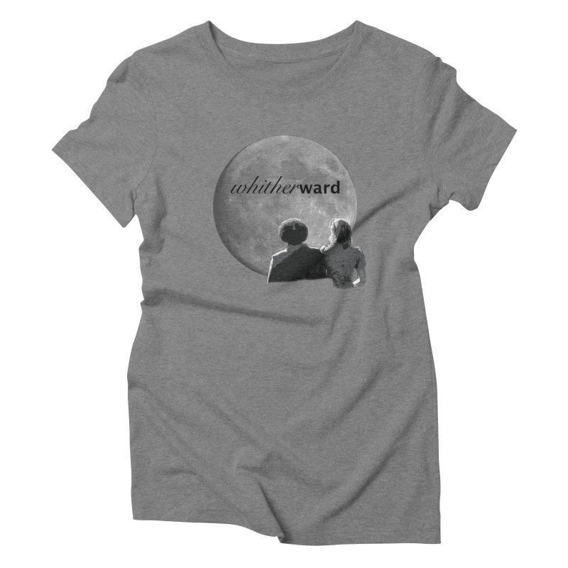 WW Moon Women's Triblend T-Shirt by whitherward's Artist Shop