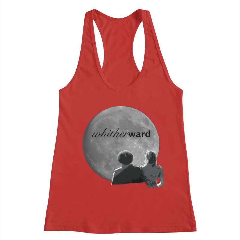 WW Moon Women's Racerback Tank by whitherward's Artist Shop