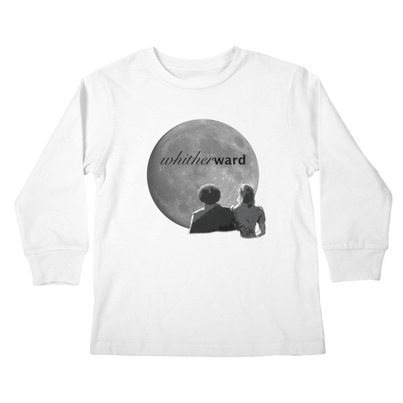 WW Moon Kids Longsleeve T-Shirt by whitherward's Artist Shop