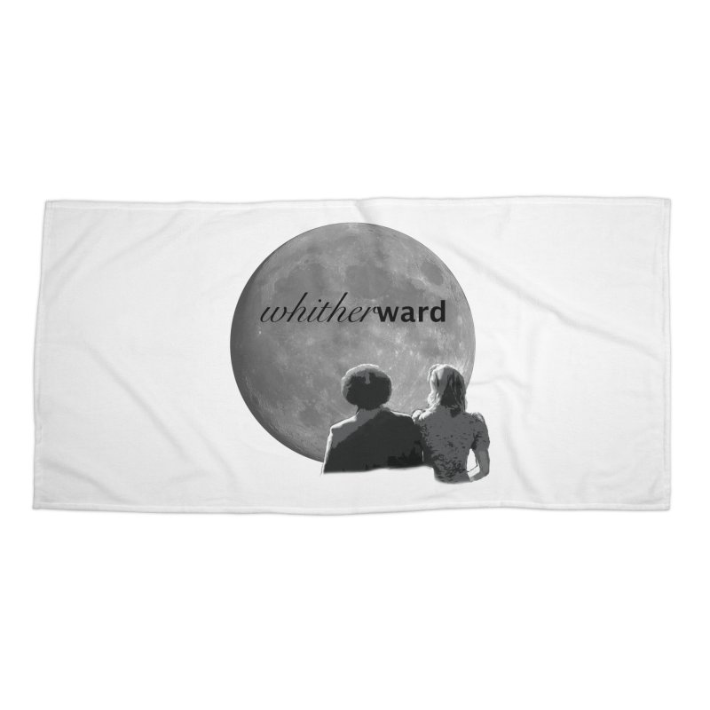 WW Moon Accessories Beach Towel by whitherward's Artist Shop