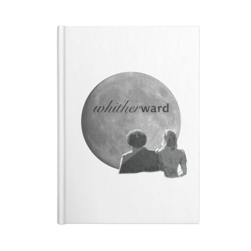 WW Moon Accessories Lined Journal Notebook by whitherward's Artist Shop
